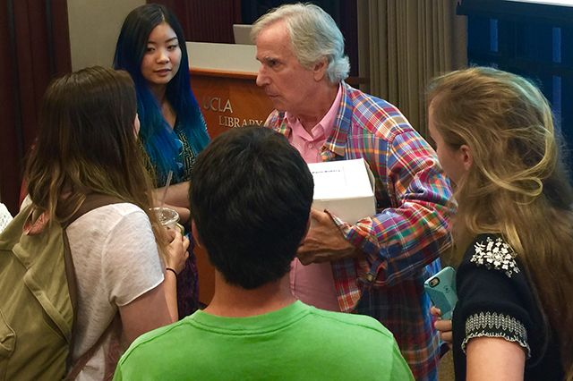 'The Fonz' goes to college