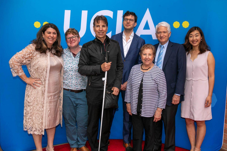 From left to right: Judy Mark, Lisa Galloway, Walt Raineri, Sjoerd Oostrik, Carol Block, Gene Block, Jingqui Guan